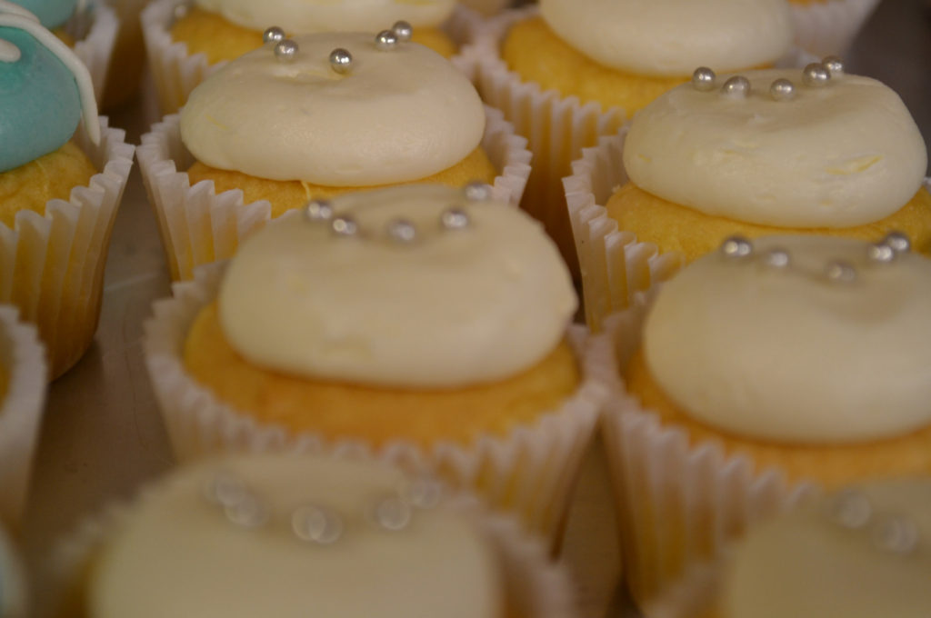 Dolcery Desserts wedding cupcakes